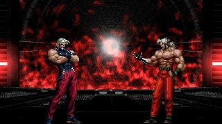 getlinkyoutube.com-[KOF WOJ] Omega Rugal vs Omega Rugal (98 vs 95)