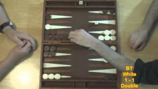getlinkyoutube.com-2011 Australian Grand Final Backgammon Championships - GAME 5
