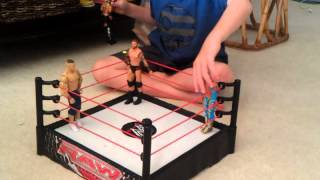 getlinkyoutube.com-Blake's WWE wrestling figures match