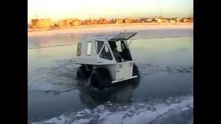 getlinkyoutube.com-DOMINATOR Бортоповоротный вездеход на воде