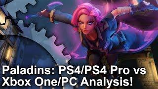 Paladins - PS4/PS4 Pro vs Xbox One vs PC Grafikai Összehasonlítás