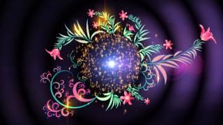 getlinkyoutube.com-4K UHD Floral Magic Intro Animation Screen Background