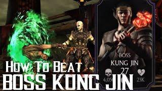 getlinkyoutube.com-How to beat Boss Kung Jin | Mortal Kombat X | iOS, Android