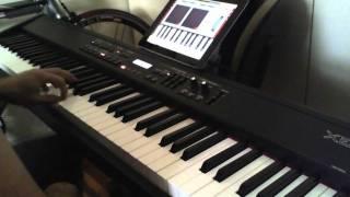 iPad Nanostudio + Midi with Roland keyboard. Live Lounge Music demo