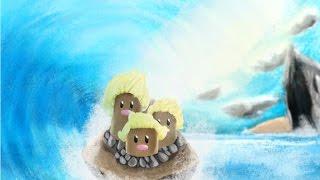 getlinkyoutube.com-Speedpaint - Pokémon: Dugtrio Alola Form