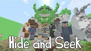 Minecraft Xbox - Hide and Seek - Shrek
