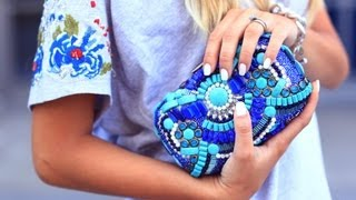 getlinkyoutube.com-DIY Runway: Emilio Pucci Clutch