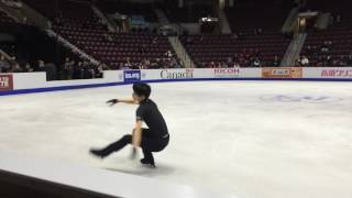 getlinkyoutube.com-Yuzuru Hanyu SC 2016 Day 1 practice FS run through