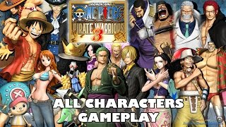 getlinkyoutube.com-One Piece Pirate Warriors 3 All Characters Gameplay | ワンピース 海賊無双3