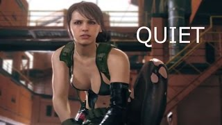 "getlinkyoutube.com-バイオ4 改造「MGS V クワイエット」 RE4 MOD ""MGS V QUIET DL"""