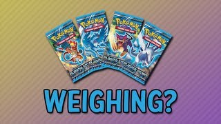 getlinkyoutube.com-Weighing Pokemon packs!