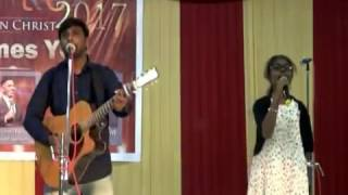 Sis. Arpudhamani Murugan singing her very 1st song at TPF IGNITE 2017
