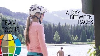 getlinkyoutube.com-A Day Between Races - In Whistler with Hannah Barnes. EWS Team Focus with Specialized