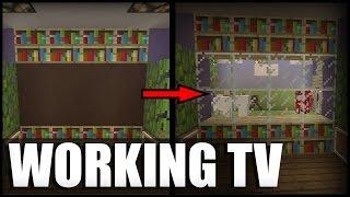 getlinkyoutube.com-Working TV in Minecraft! (No Mods/Command Blocks)