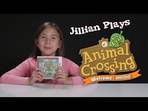 Jillian Plays ANIMAL CROSSING NEW LEAF Welcome amiibo!