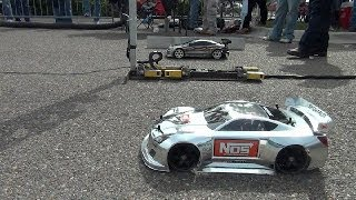 "getlinkyoutube.com-FINISHLINE RC DRAG RACING at ""Car Fest 2014"" TRAXXAS OFNA KYOSHO HPI"