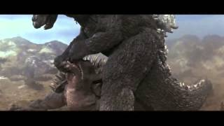 getlinkyoutube.com-Fake Godzilla and Anguirus /