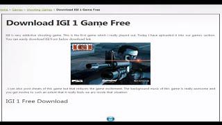 IGI 1 Free Downlode width=