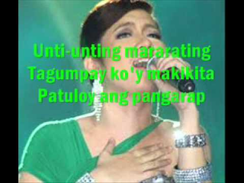 Patuloy ang Pangarap with lyrics - Angeline Quinto - STAR POWER