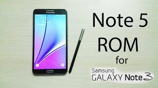 getlinkyoutube.com-Note 5 ROM for Note 3 N900