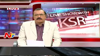 getlinkyoutube.com-Discussion on Osmania University tense as beef festival organisers - KSR Live Show