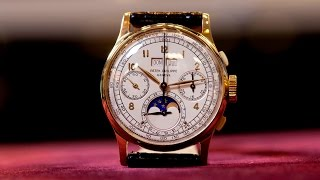 getlinkyoutube.com-Reference Points: Perpetual Calendar Chronographs From Patek Philippe