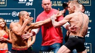 getlinkyoutube.com-UFC 194 Weigh-Ins: Jose Aldo vs. Conor McGregor