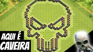 getlinkyoutube.com-Clash of Clans - Faca na Caveira, Layout Cismado!