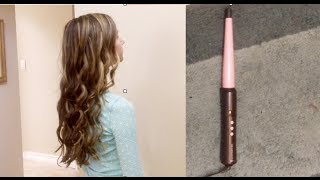 getlinkyoutube.com-Remington Curling Wand Review and Tutorial