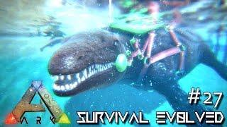 getlinkyoutube.com-ARK: Survival Evolved - MOSASAURUS TAMING & DEEP SEA LOOT CRATES !!! - SEASON 3 [S3 E27] (Gameplay)