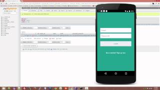 getlinkyoutube.com-Android Login and Registration with PHP, MySQL and SQLite V2 (Demo)
