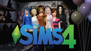 getlinkyoutube.com-The Sims 4 - Five Nights At Freddy's 2 Girls - (Create-A-Sim)