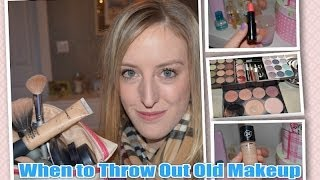 Guide: When to Throw Out Your Old Makeup