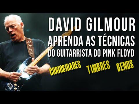 COMO TOCAR GUITARRA NO ESTILO DAVID GILMOUR