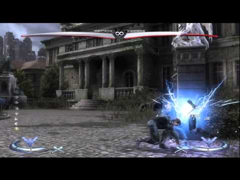 Injustice: Nightwing Beginner Tutorial