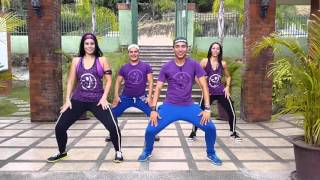 "getlinkyoutube.com-zumba ""LA CHAPA QUE VIBRAN"" La Materialista by Honduras Dance Crew"