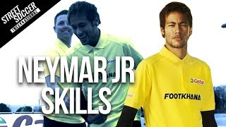 getlinkyoutube.com-Neymar skills 2014 - Learn Football/soccer skills with Neymar & Cafu