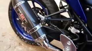 Yamaha r3 with yoshimura r77 full system CHILE