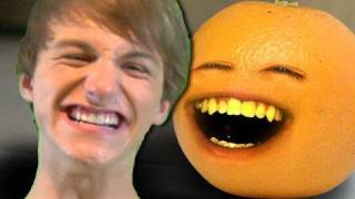 getlinkyoutube.com-Annoying Orange - Annoying Orange vs. FRED!!!