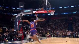 Derrick Jones Jr. Side of the Backboard Between-the-Legs (2nd Dunk) | 02.18.17
