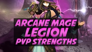 getlinkyoutube.com-The Crazy Strength of Arcane Mage in Legion - Duels PvP