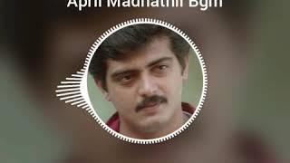 April Mathathil Song Bgm [ Vaali ].....Ajith....Deva....Love Bgm.....Whatsapp Status..... width=