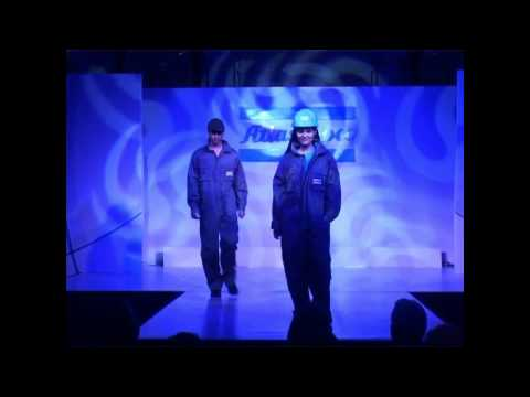 The Atlas Copco Service fashion show 2012