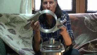 getlinkyoutube.com-Steam Tesla Turbogenerator Assembly Tips II, super efficiency, more horsepower