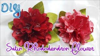 getlinkyoutube.com-D.I.Y. Satin Rhododendron Flower Tutorial | MyInDulzens