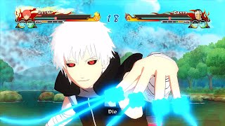 getlinkyoutube.com-Naruto Ultimate Ninja Storm Revolution Tokyo Ghoul Ken Kaneki Sasori Mod Gameplay (PC)