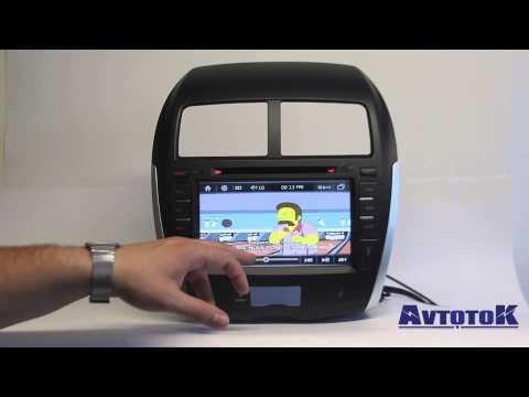 Штатная автомагнитола для Mitsubishi ASX производства Ntray