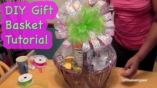 getlinkyoutube.com-DIY Gift Basket Tutorial - Giftbasketappeal