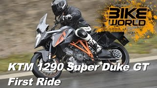 getlinkyoutube.com-KTM 1290 Super Duke GT Review (First Ride)
