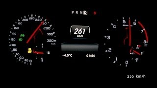 getlinkyoutube.com-Mercedes A 45 AMG 2014 - acceleration 0-260 km/h, top speed test and more